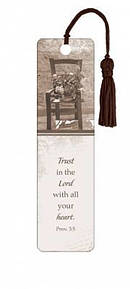 """Trust in the Lord"" Tassle Bookmark"