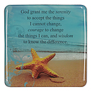 Serenity Prayer - Epoxy Magnet
