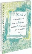Faith - Frosted Wirebound Notebook