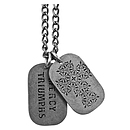 Mercy Triumphs - Dog Tag