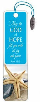 """God of Hope"" Bookmarks w/ Charm"