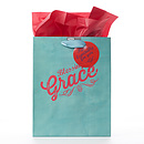 Gift Bag - Med - Grace 1 Tim 1:14
