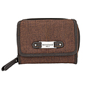 Wallet w/ Badge Redeemed Brown