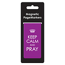 Keep Calm & Pray Phil 4:6 Magnetic Pagemarker - Single