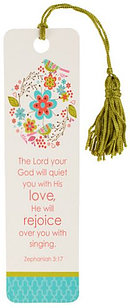 Lord Your God Will Quiet You- Single Bookmark