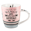Under His Wings You Will Find Refuge Mug