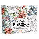 Colour In Blessings Box of Encouragement Cards
