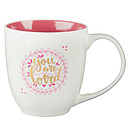You Are Loved 1 John 4:19 Coffee Mug