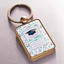 Keyring in Tin All Things Are Possible