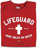 T-Shirt LifeGuard Red Adult Medium