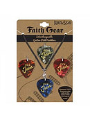 Guitar Pick Necklace - Interchangeable w/ Leather Cord