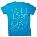 T Shirt FH and Love        SMALL