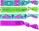 Faith Tie Bands: He Loves Me