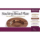 Bronze Stacking Bread Plate