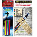 BIBLE RIBBONS WITH BOOKMARK GO
