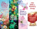 With Love On Mothering Sunday Bookmarks Pack of 40