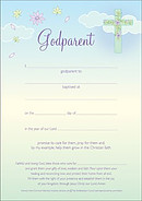 Godparent Certificate (Pack of 10)