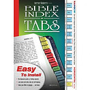 Bible Index Tabs Rainbow