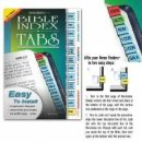 Bible Index Tabs XL Rainbow