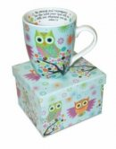 Joshua 1:9 Be Strong Owl Mug