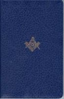 KJV Masonic Bible: Blue, Imitation Leather