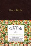 NRSV Catholic Gift Bible: Black, Imitation Leather