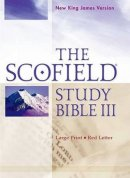 NKJV Scofield Study Bible 3 Large Print Burgundy Bonded Leather