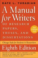 Manual for Writers of Research Papers,Theses & Dissertations