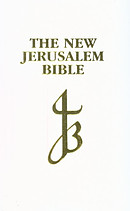 NJB Presentation Bible: White, Bonded Leather