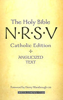 NRSV Bible:  Catholic Edition, Anglicised Text