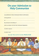 Certificate of Admission to Holy Communion (Anglican) Pack of 10