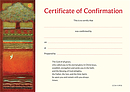 Certificate of Confirmation Pack of 10