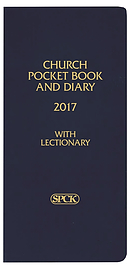 Navy Church Pocket Book and Diary 2017