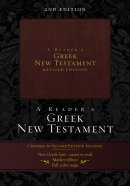 Readers Greek Nt Duo Tone Burgundy