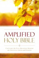 Amplified Outreach Bible, Paperback