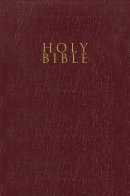 Nrsv, Gift and Award Bible, Leather-Look, Burgundy, Comfort Print