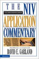Colossians and Philemon: NIV Application Commentary