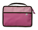 Reversible Bible Cover Pink/Brown Large