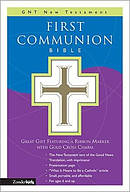 Good News1st Communion Bible White Imitation Leather