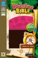 Adventure Bible Imitation Leather Pink and Brown