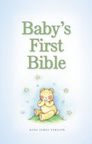 KJV Baby's First Bible: Blue, Hardback