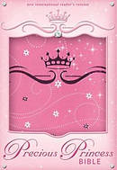 NIrV, Precious Princess Bible, Compact, Imitation Leather, Pink