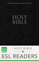 NIrV, Holy Bible for ESL Readers, Paperback, Black