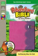 NIrV, Adventure Bible for Early Readers, Imitation Leather, Pink/Purple, Full Color