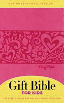 NIV, Gift Bible for Kids, Imitation Leather, Pink