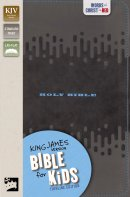 KJV Bible for Kids, Imitation Leather, Charcoal