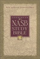 NASB  Study Bible: Navy, Bonded Leather