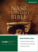 NASB Thinline Bible: Paperback