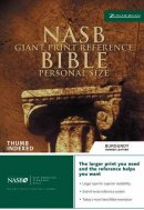NASB Reference Bible: Burgundy, Bonded Leather, Giant Print, Thumb Index