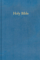 KJV Pew Bible: Blue, Hardback, Anglicised